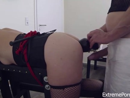Amateur BDSM For Blonde Slave