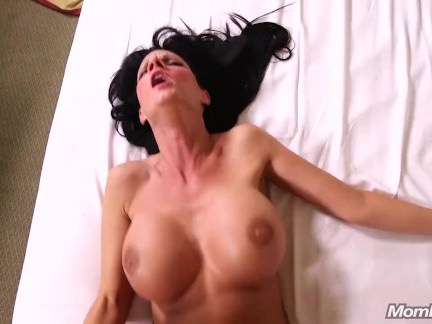 Big Boobs Waitress MILF Fucks Cock POV