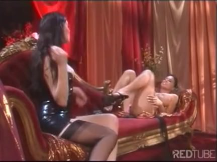 Foot fetish lesbians with stockings