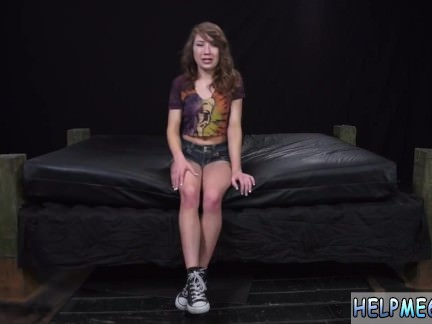 Stretch bondage teen Faye was supposed to