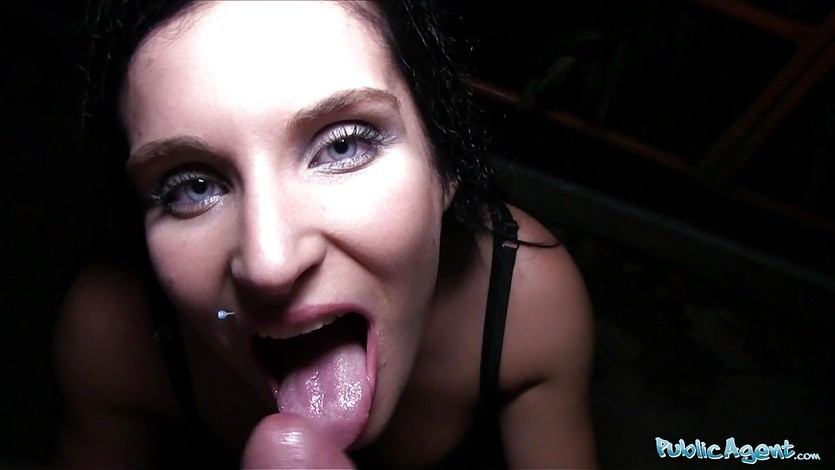 Public Agent Blue eyed babe fucked in public by a cock